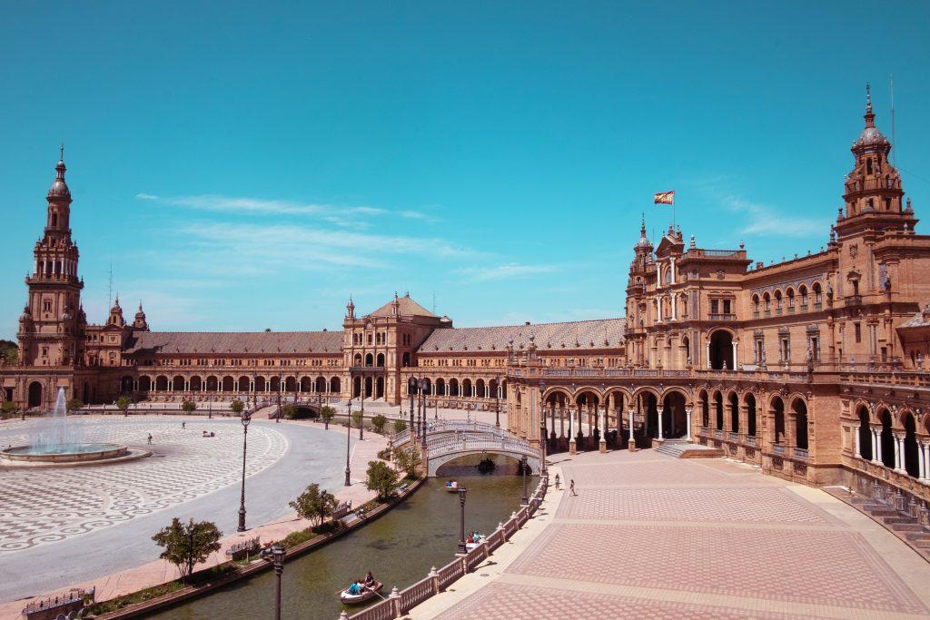 Visiter Séville - Plaza de Espana