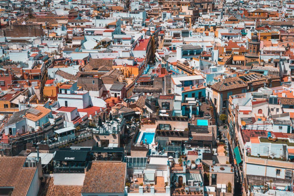 Visiter Séville - ville colorée