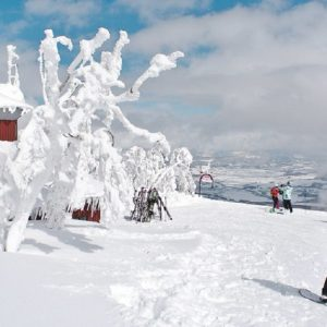 Skier au Japon